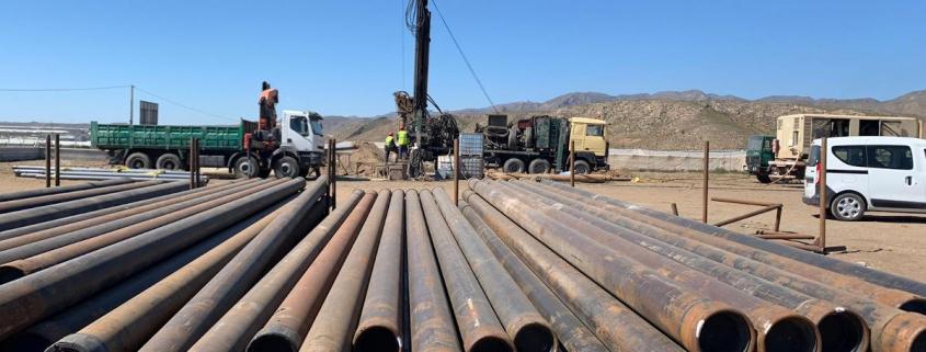 Arranca en Níjar la construcción de la primera planta geotérmica de Cardial (Grupo Cyopsa)