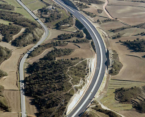Autovía A-22 Lleida-Huesca