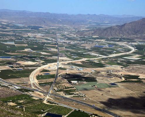 Autovía A-33 Murcia-Fuente La Higuera