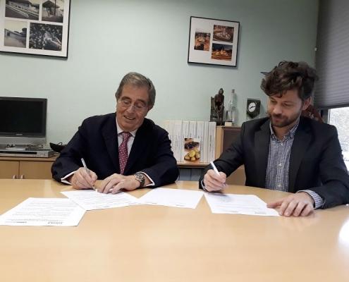 Renovamos nuestro acuerdo de colaboracion con la empresa CYOPSA